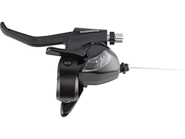 Shimano ST-EF41 Leva del cambio/freno sinistra 3s, black